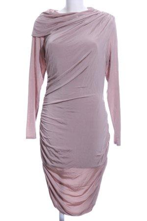 bebe Tube Dress pink mixture fibre