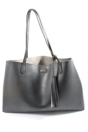 bebe Borsa shopper grigio chiaro stile casual