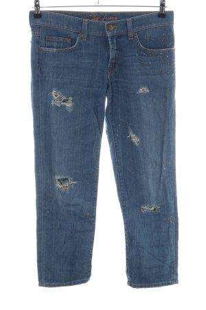 bebe Straight-Leg Jeans blau Casual-Look
