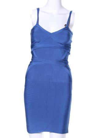 bebe Strickkleid blau Casual-Look
