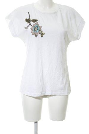 bebe T-shirt wit prints met een thema casual uitstraling