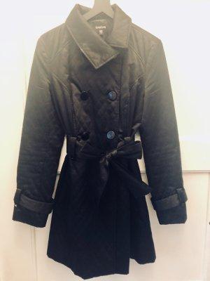 bebe Trench Coat black