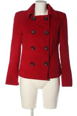 bebe Winterjas rood casual uitstraling