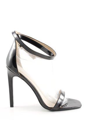 Bebo High Heel Sandaletten schwarz Elegant