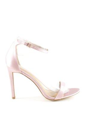 Bebo High Heel Sandaletten pink Business-Look
