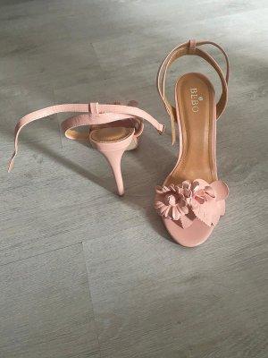 Bebo High Heels dusky pink-light pink