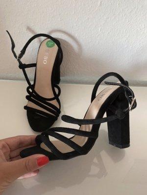 Bebo Hoge hakken sandalen zwart