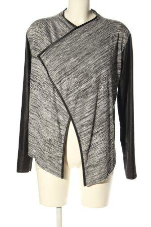 Bebo Jersey blazer lichtgrijs-zwart casual uitstraling