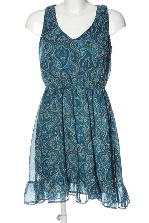 BeBop Sukienka mini Abstrakcyjny wzór W stylu casual