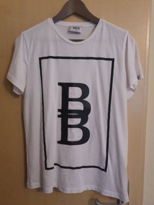 BECK T-Shirt white-black