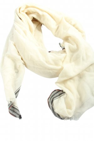 Beck Söndergaard Fringed Scarf cream casual look