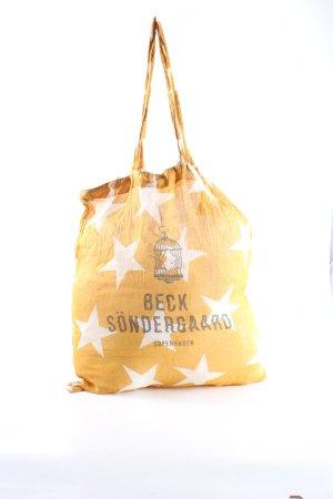 Beck Söndergaard Jute tas prints met een thema casual uitstraling