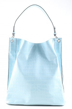 Beck Söndergaard Shopper blau Allover-Druck Casual-Look