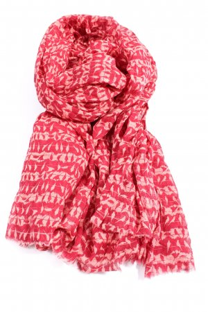 Beck Söndergaard Summer Scarf red-white abstract pattern casual look
