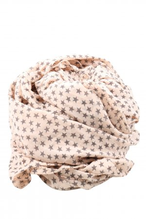 Beck Söndergaard Summer Scarf natural white-black allover print casual look
