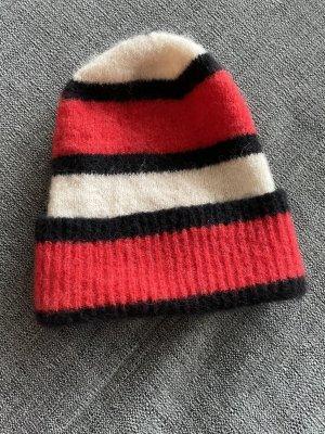 Beck Söndergaard Sombrero de punto multicolor lana de alpaca
