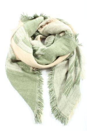 Beck Söndergaard Sciarpa di lana bianco sporco motivo astratto stile casual