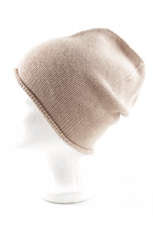Becksöndergaard Beanie nude cable stitch casual look