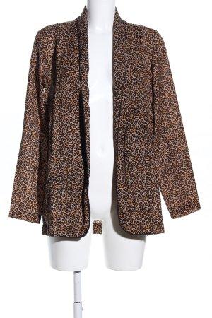 Becksöndergaard Blouse Jacket brown-cream animal pattern street-fashion look