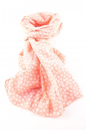 Becksöndergaard Foulard orange clair-blanc motif graphique style d'affaires
