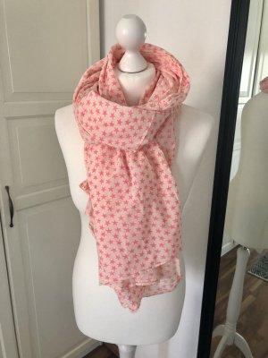 Becksöndergaard Chal veraniego beige claro-rosa neón