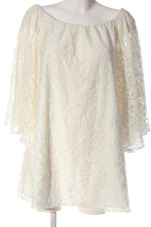 beclaimed vintage Lace Dress natural white elegant
