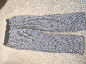 Zara Pantalone alla turca bianco-blu scuro