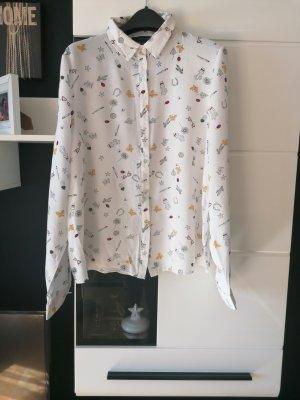 Bedruckte Hemd von Orsay, Größe M