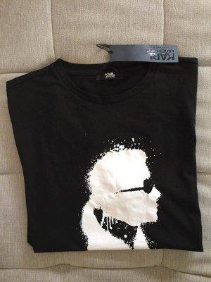 Bedruckte T-Shirt von Karl Lagerfeld Beachwear