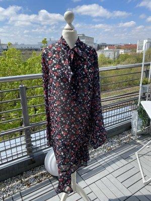 Bedrucktes Kleid mit Schleife