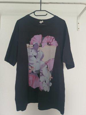 H&M Camisa holgada negro