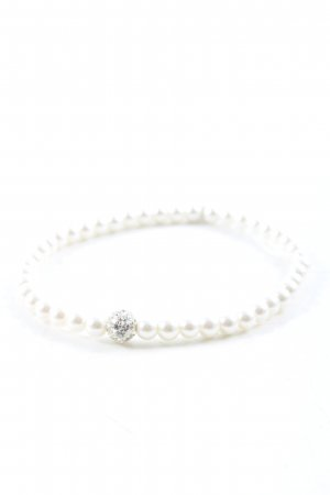 Bee Bracelet white-silver-colored elegant