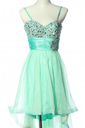 Bee Darlin Vokuhila-Kleid grün Elegant