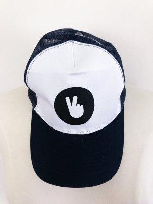 Beechfield Original Headwear Berretto da baseball nero-bianco
