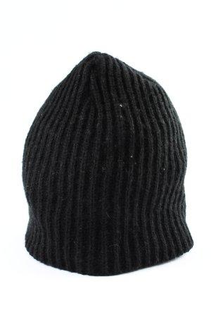 Beechfield Original Headwear Cappello all'uncinetto nero stile casual