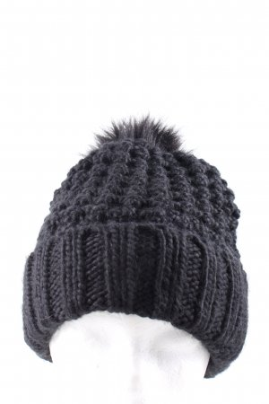 Beechfield Original Headwear Cappello con pon pon nero stile casual