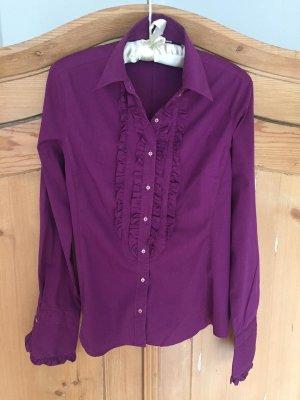 Caliban Long Sleeve Blouse purple