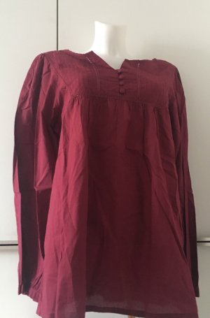 CHEROKEE Long Sleeve Blouse bordeaux-carmine