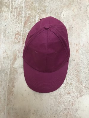 Baseball Cap purple-blackberry-red cotton