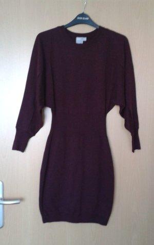 Asos Gebreide jurk braambesrood-paars Gemengd weefsel