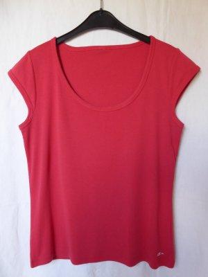 Beerenfarbenes T-Shirt von QS (S.Oliver)