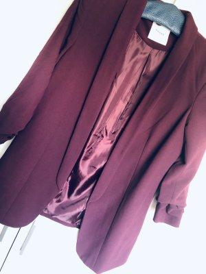 Pieces Jersey blazer braambesrood-paars