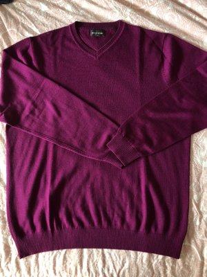 Beerenfarbiger Pullover