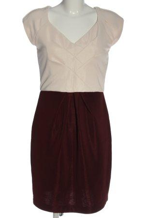 Befree Ołówkowa sukienka w kolorze białej wełny-brązowy W stylu casual