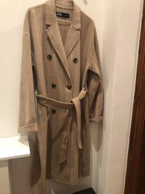 Zara Oversized jas licht beige