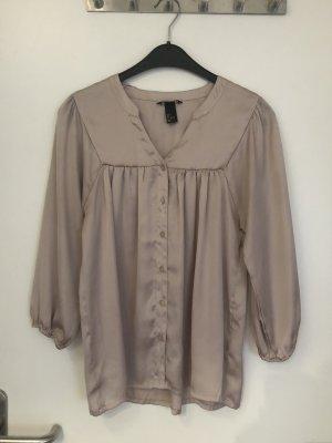 Beige 3/4-Bluse