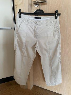 brax golf Pantalon 3/4 beige clair-crème