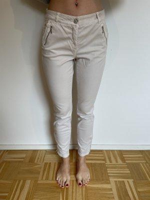 Cambio 7/8 Length Jeans oatmeal-cream