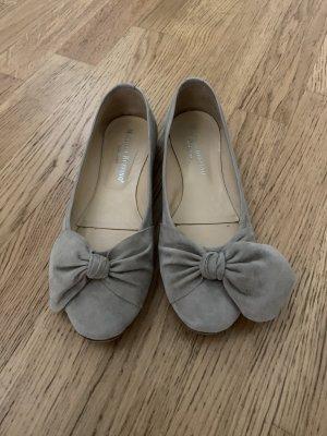 Beige Ballerinas von Michaela ruffino, Größe 38,5. nur einmal getragen, also neuwertig.