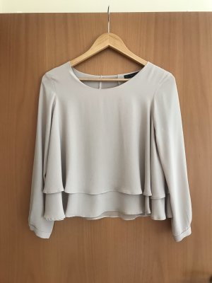 Beige Bluse Zara / Gr. S